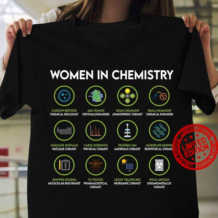 Women In Chemistry Shirt
